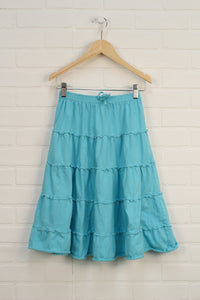 Turquoise Skirt (Size 8)