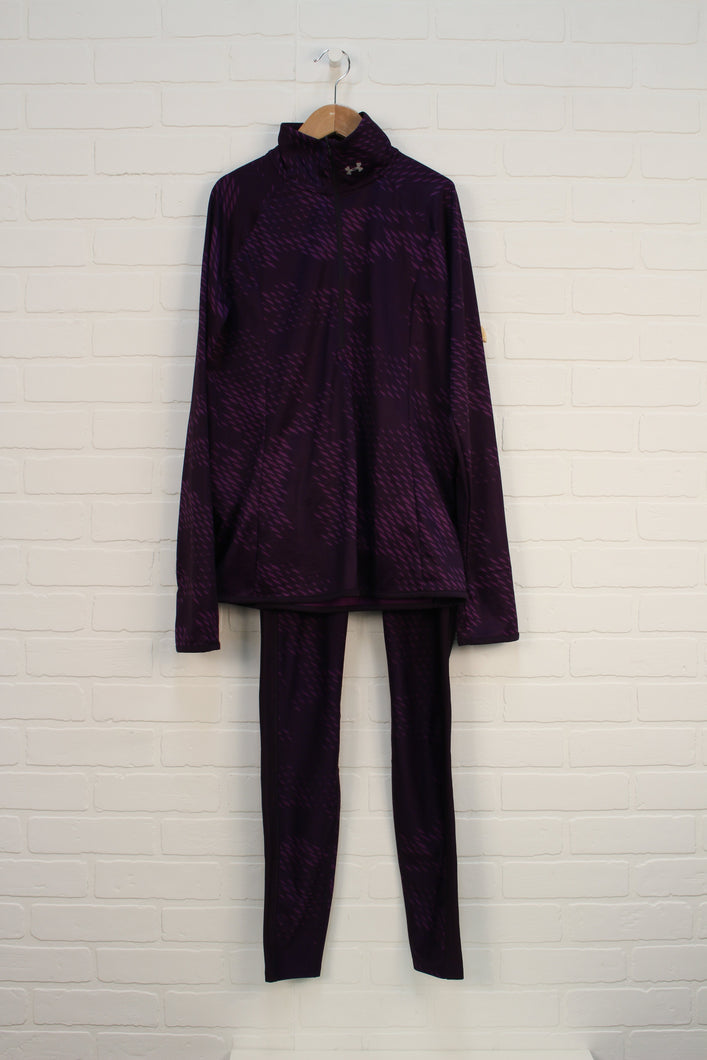 Plum Athletic Set (Women's Size S) 2 Pieces