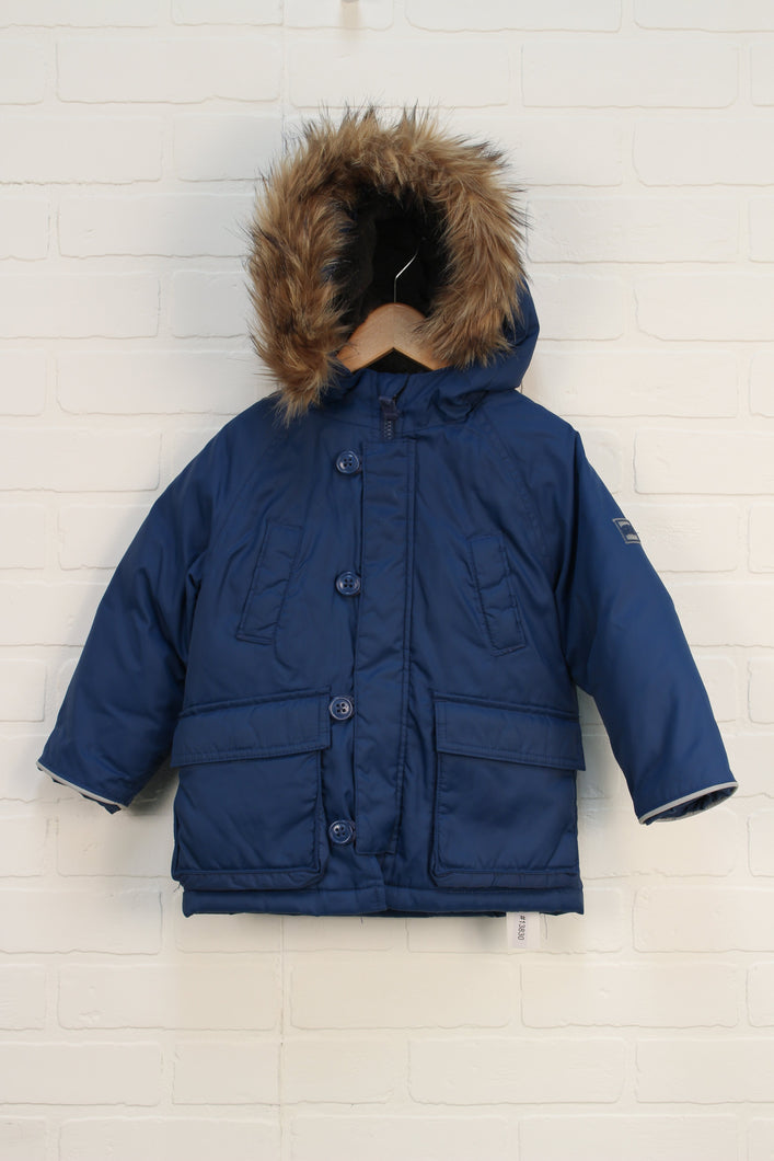 Blue Winter Coat (Size 2)