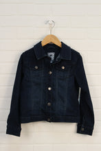 Dark Wash Denim Jacket (Size M/7-8)