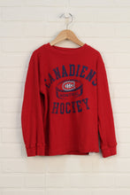 Crimson Graphic Thermal Top: Montreal Canadiens (Size S/6-7)