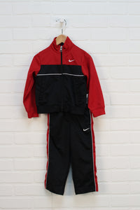 Red + Black Warm Up Set (Size 2T) 2 Pieces