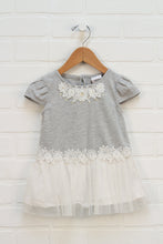 Heathered Grey + Gold Top (Size 24M)