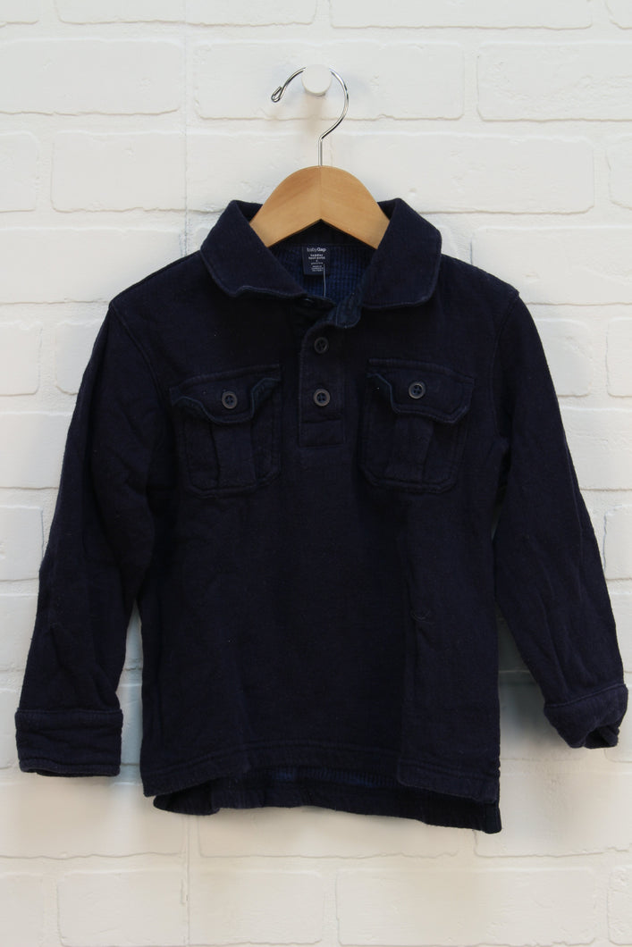Navy Thermal Top (Size 4)