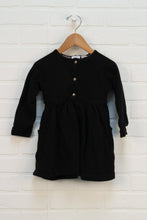 Black French Terry Dress (Size 98/2-3) *STAFF PICK*