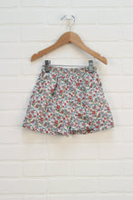 Cream Floral Shorts (Size 3) *STAFF PICK*