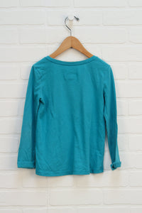 Teal Logo Top (Size S/6)