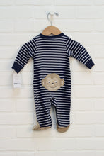 NWT Navy + White Graphic Sleeper: Monkeys (Carter's Size 3M)