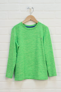 Fluorescent Green Athletic Top (Size S/6-7)