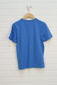 NWT Light Blue Graphic T-Shirt (Size M/7-8)