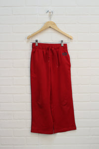 Red + Grey Athletic Pants (Size S/6-7)