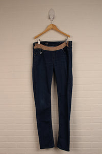Low-Rise Maternity Jeans (Maternity Size 29/8R)