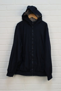 Navy Jersey Lined Windbreaker (Size XL/14-16)