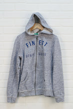 Benetton Heathered Blue Hoodie (Size 2XL/11-12)