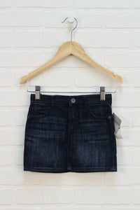 NWT Dark Wash Denim Skirt (Size 3T)