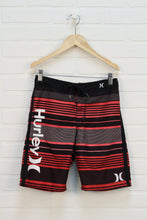 Brown + Coral Swim Trunks (Size 10)