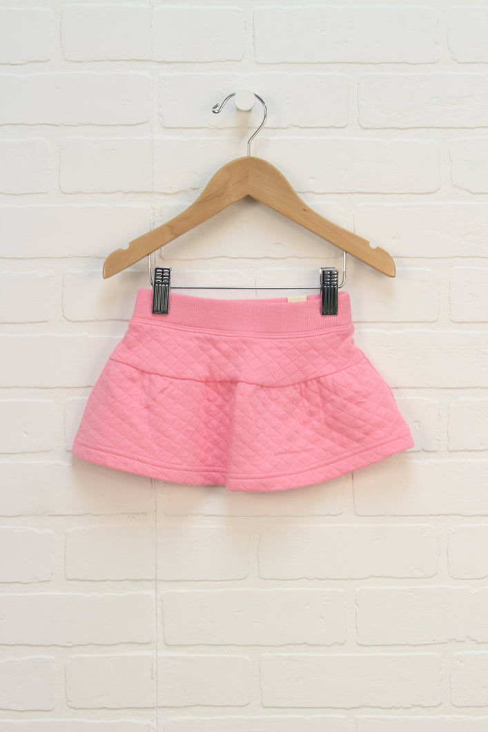 NWT Pink Quilted Skirt (Size 12-18M)