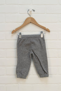 Grey Fleece Pants (Carter's Size 6M)