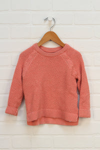 Pink + Gold Sweater (Size 3)