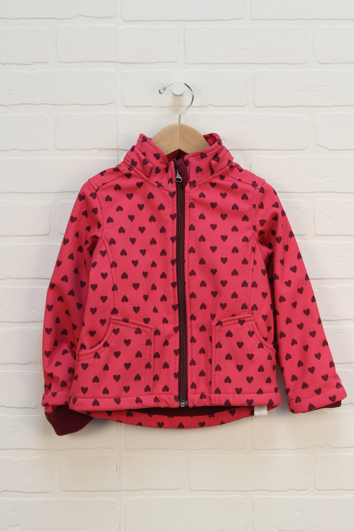Hot Pink Graphic Jacket (Size 3)
