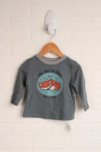 Teal Graphic T-Shirt (Size M/6-12M)