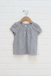 Heathered Grey Top (Size 3)