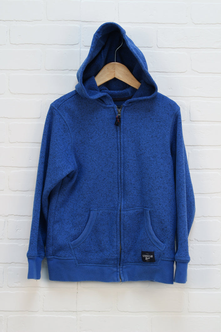 Heathered Blue Hoodie (Size 10)