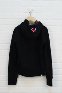 Black Graphic Hoodie (Estimated Size 8-10)