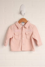 Blush Fleece Jacket (Size M/6-12M)