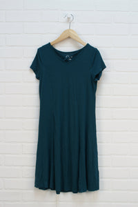 Teal Princess Seam Dress (Size L/10-12)