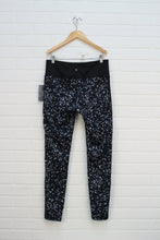 NWT Black + Grey Floral Athletic Leggings (Women's Size M)
