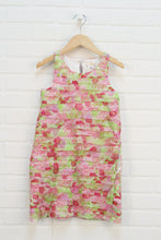 Lime + Raspberry Gauze Dress (Size M/8)
