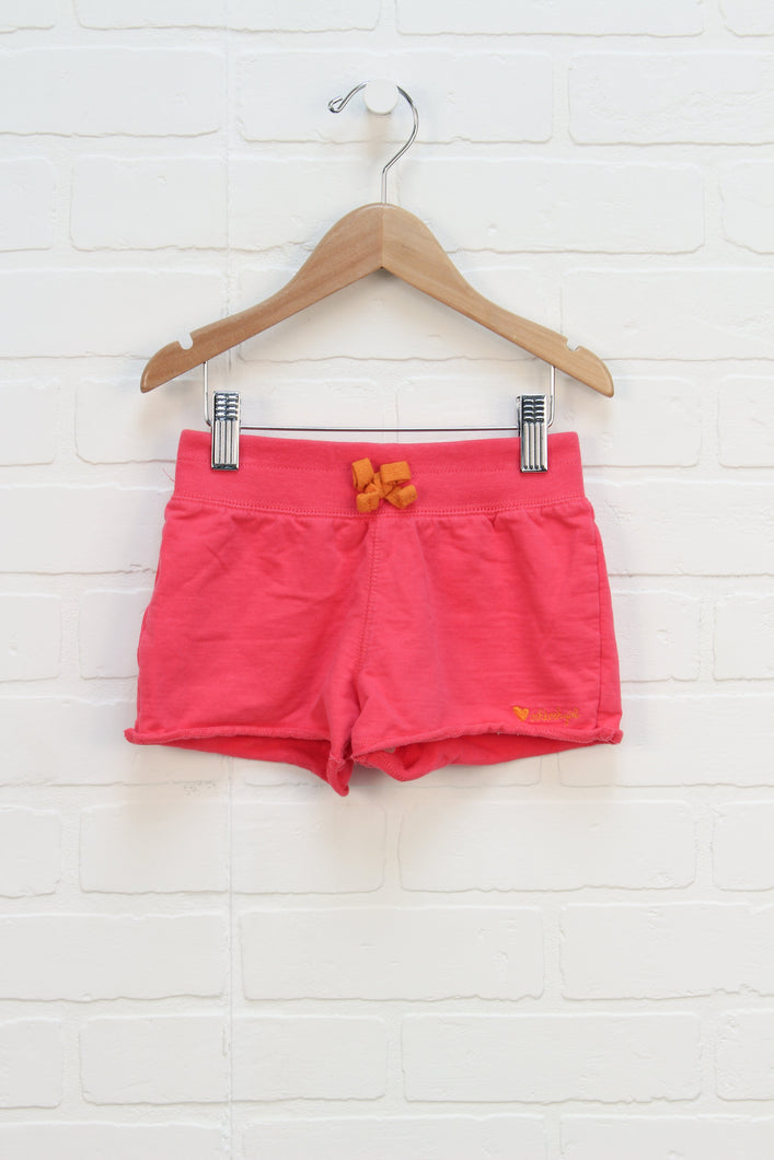 Hot Pink French Terry Shorts (Size 6)