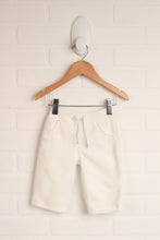 White Fleece Pants (Size 3-6M)