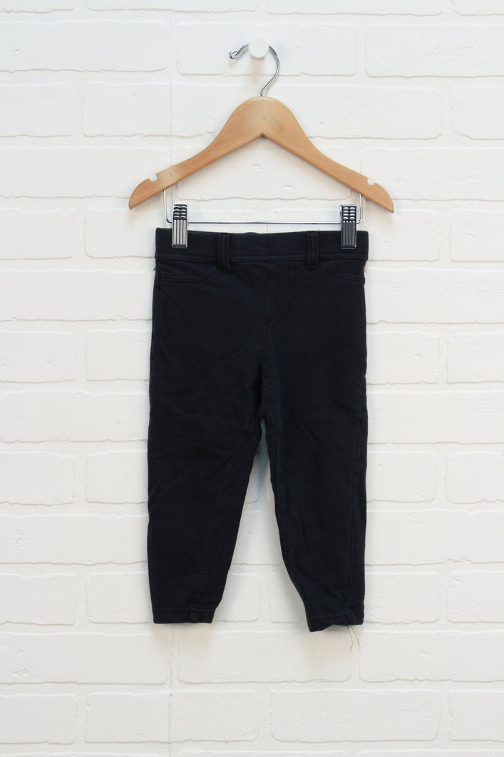 Black Jeggings (Size 24M)