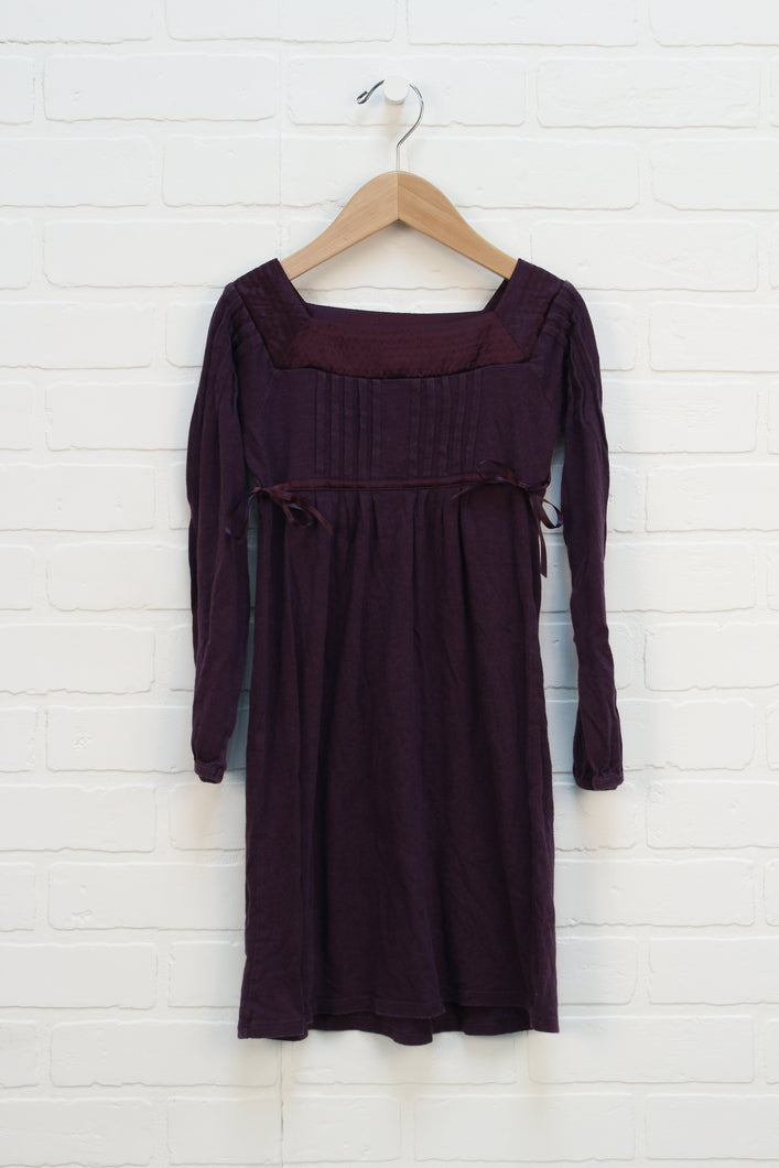 Plum Dress (Size S/6-7) *STAFF PICK*