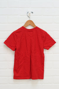 Red Graphic T-Shirt: Cars (Size 6)