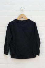 Black Graphic Sweatshirt (Size 122/7)