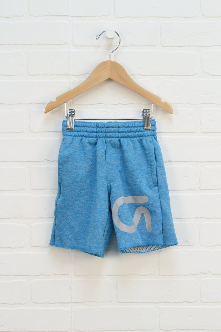 Heathered Blue Athletic Shorts (Size 4Y)