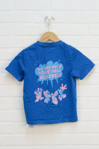 Blue Graphic T-Shirt: Donald Duck (Size S/3-4)