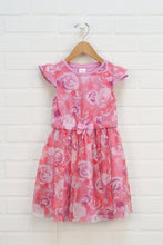 Pink + Purple Floral Party Dress (Size 3T)
