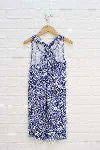 Blue + White Sundress (Size L/10-11)