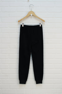 Black Fleece Pants (Size 8)