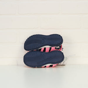NWT Pink + Navy Sandals (Little Kids Shoe Size 10)