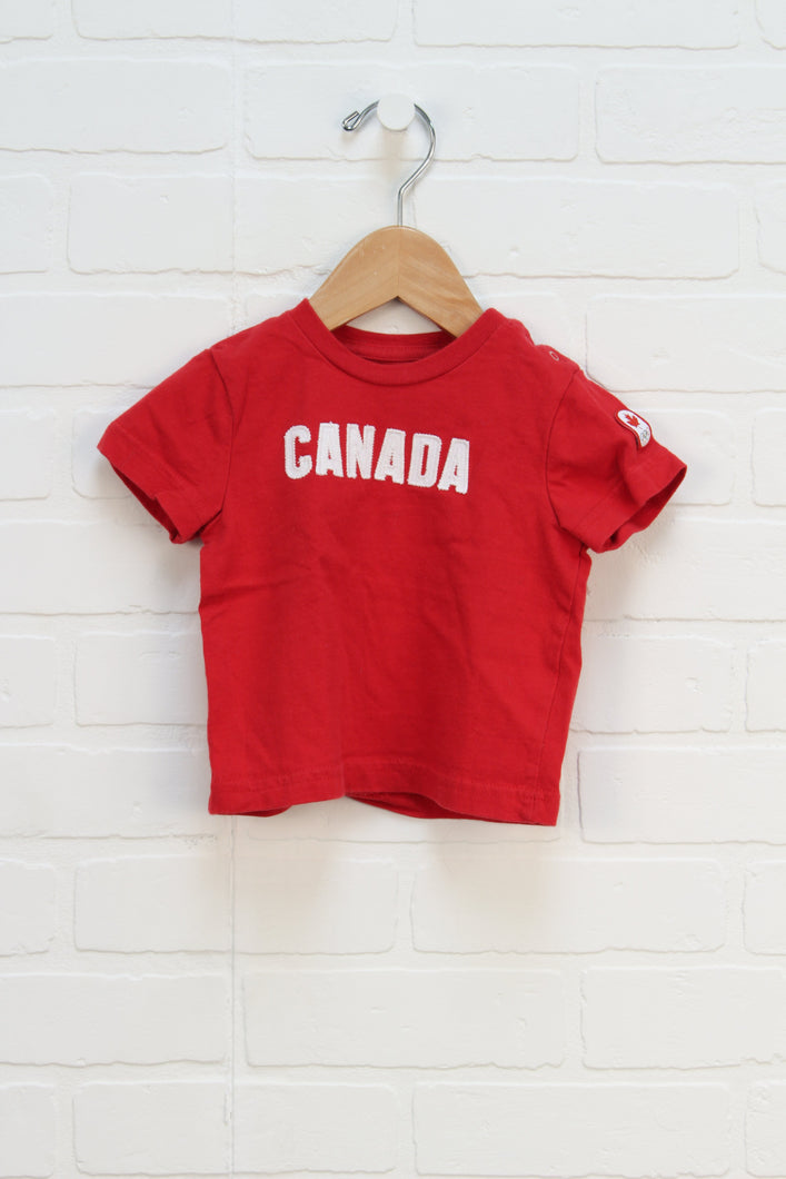 Red Graphic T-Shirt (Size 0-6m)