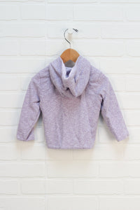 Lilac Snap Hoodie (Size 12-18M)