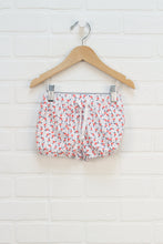 White Floral Bubble Shorts (Size 18-24M)