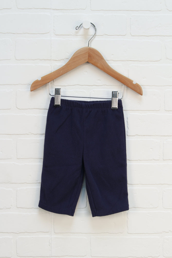 Navy Fleece Pants (Size 3M)