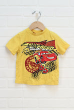Yellow Graphic T-Shirt: Cars (Size 3)