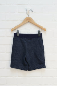 Heathered Blue French Terry Shorts (Size 3T)